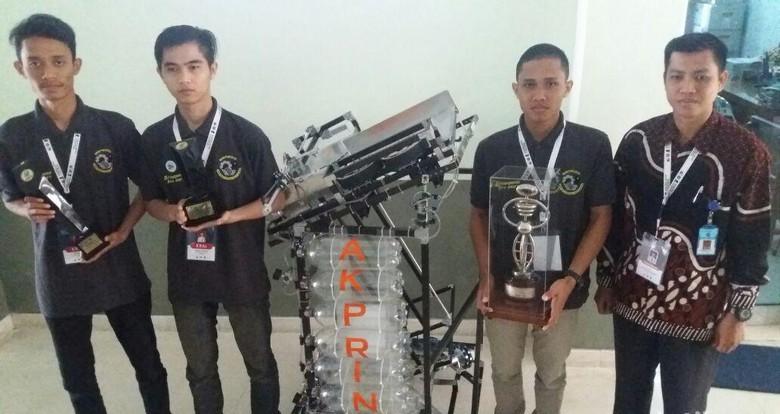 Tim Robot Brahmana Terbaik dalam KRI 2017