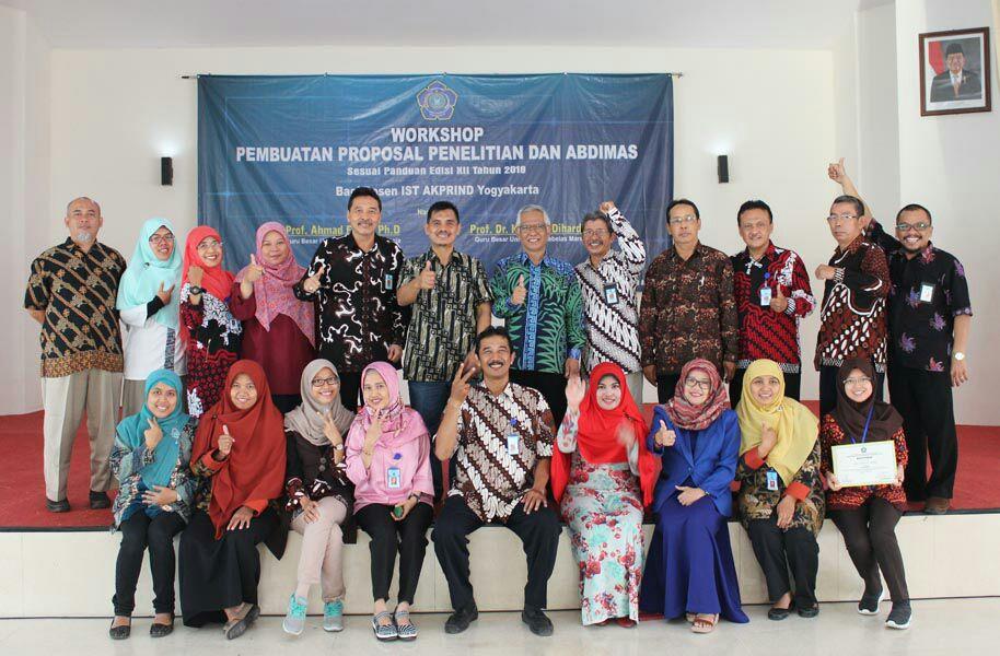 Workshop Pembuatan Proposal Penelitian dan Abdimas 2018