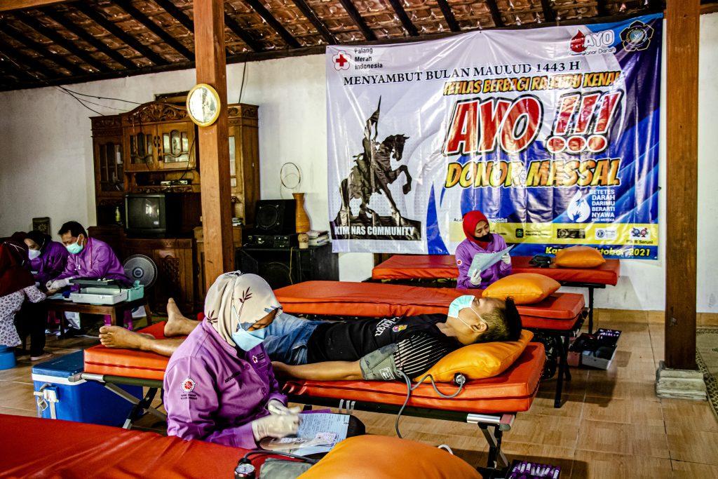 Bantuan Alat TTG untuk KIM NAS Community Kulon Progo